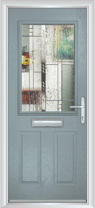 Composite Door - Lindisfarne - Classic Collection - Silver Grey