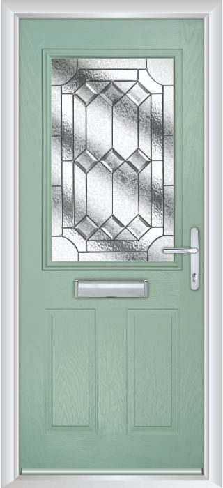Composite Door - Lindisfarne - Classic Collection - Chartwell Green