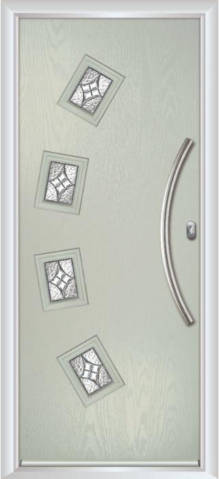 Composite Door - Macmillan - Contemporary Collection - Clay