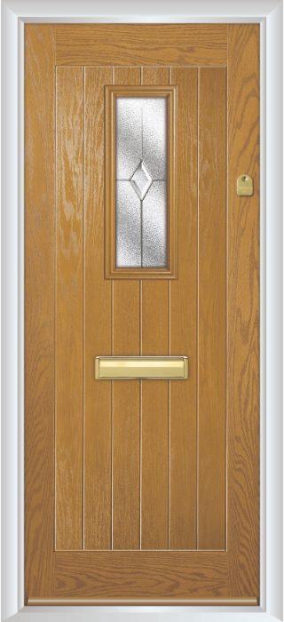 Composite Door - Maple- Rural Collection - Irish Oak