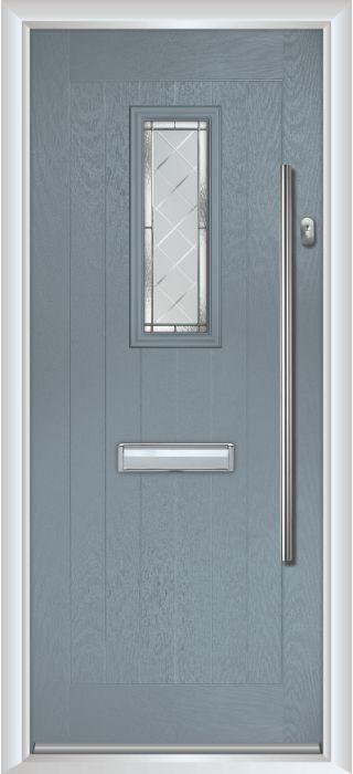 Composite Door - Maple- Rural Collection - Shadow Grey