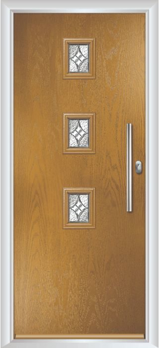 Composite Door - Maxwell - Contemporary Collection - Irish oak