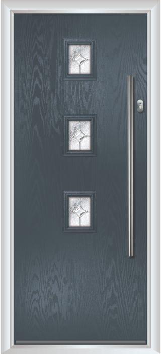 Composite Door - Maxwell - Contemporary Collection - Anthracite Grey