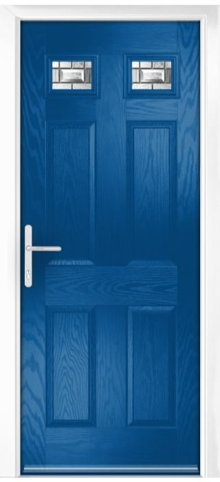 Composite Door - Alnwick - Classic Collection - French Blue