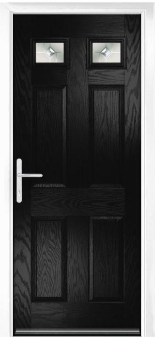 Composite Door - Alnwick - Classic Collection - Black