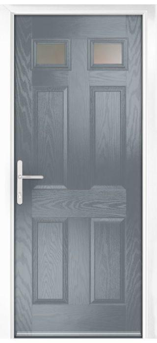 Composite Door - Alnwick - Classic Collection - Shadow Grey
