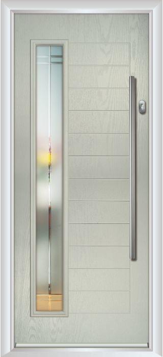 Composite Door - Talbot - Contemporary Collection - Clay