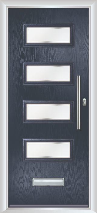Composite Door - Volta - Contemporary Collection - Blue