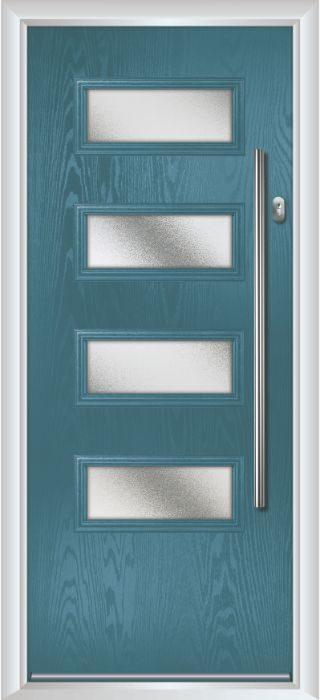 Composite Door - Volta - Contemporary Collection - Victory Blue