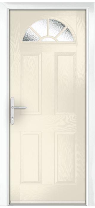 Composite Door - Warkworth - Classic Collection - Cream White