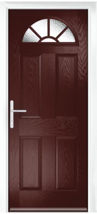 Composite Door - Warkworth - Classic Collection - Rosewood