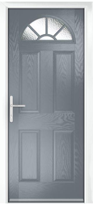 Composite Door - Warkworth - Classic Collection - Shadow Grey