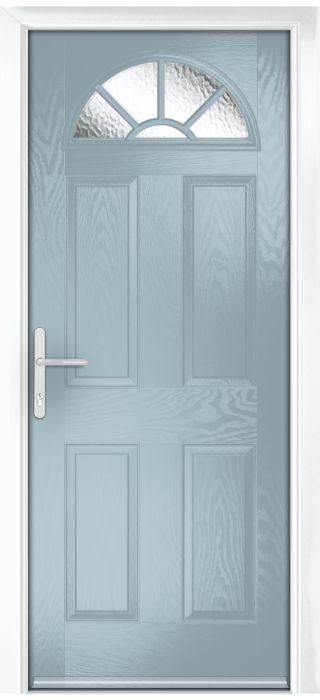 Composite Door - Warkworth - Classic Collection - Wedgewood