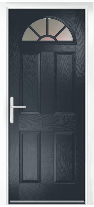 Composite Door - Warkworth - Classic Collection - Anthracite Grey