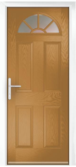 Composite Door - Warkworth - Classic Collection - Irish Oak