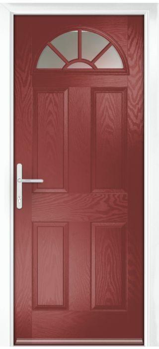 Composite Door - Warkworth - Classic Collection - Marsala
