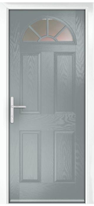 Composite Door - Warkworth - Classic Collection - Silver Grey