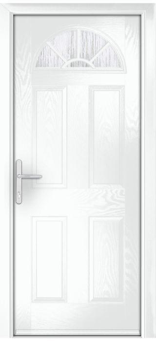 Composite Door - Warkworth - Classic Collection - White
