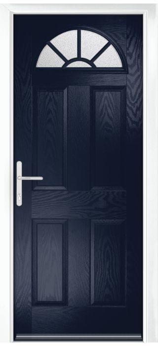 Composite Door - Warkworth - Classic Collection - Blue