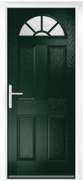 Composite Door - Warkworth - Classic Collection - Green