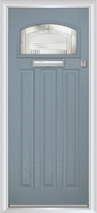 Composite Door - Warwick - Classic Collection - Shadow Grey