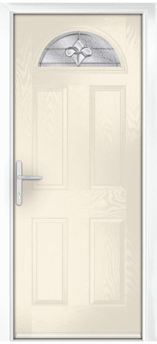Composite Door - York - Classic Collection - Cream White