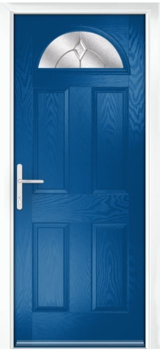 Composite Door - York - Classic Collection - French Blue
