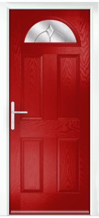 Composite Door - York - Classic Collection - Red