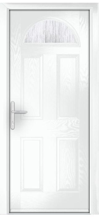 Composite Door - York - Classic Collection - White