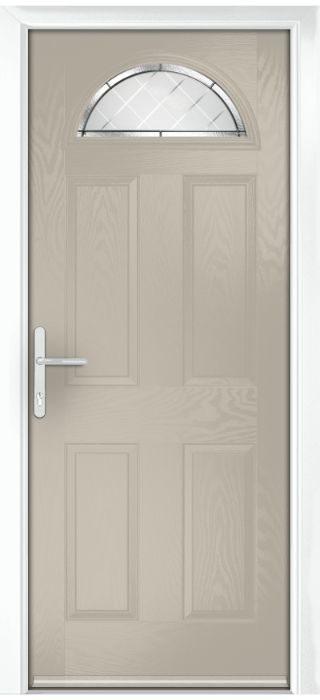 Composite Door - York - Classic Collection - Clay