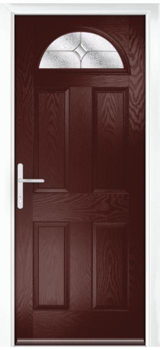 Composite Door - York - Classic Collection - Rosewood