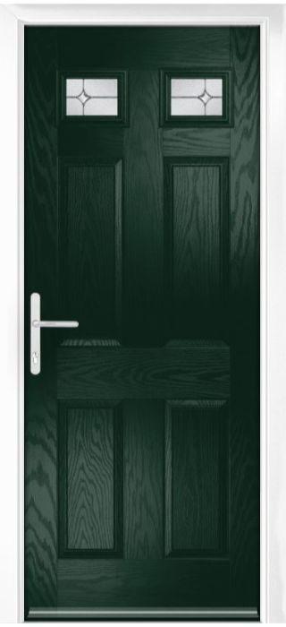 Composite Door - Alnwick - Classic Collection - Green