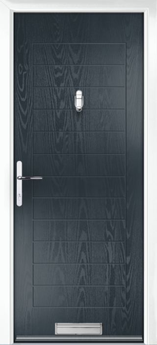 Composite Door - Talbot Solid - Classic Collection - Anthracite Grey