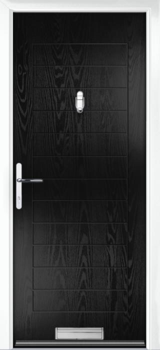 Composite Door - Talbot Solid - Classic Collection - Black