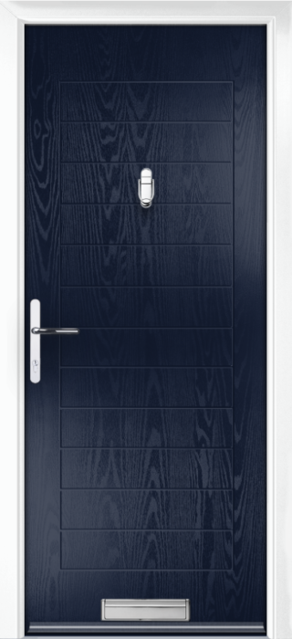 Composite Door - Talbot Solid - Classic Collection - Blue