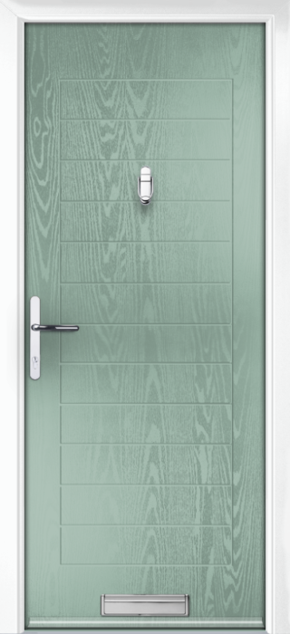 Composite Door - Talbot Solid - Classic Collection - Chartwell Green