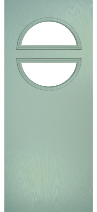 Composite Door - Franklin - Classic Collection - Chartwell Green