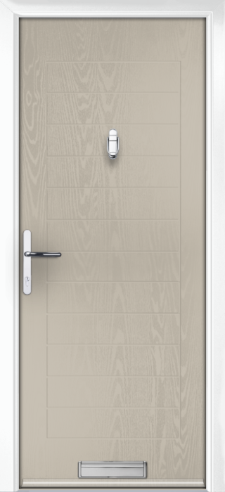 Composite Door - Talbot Solid - Classic Collection - Clay