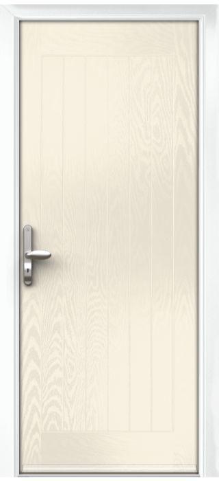 Composite Door - Aspen - Rural Collection - Cream White