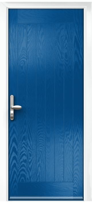 Composite Door - Aspen - Rural Collection - French Blue