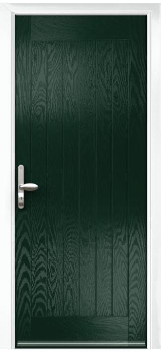 Composite Door - Aspen - Rural Collection - Green
