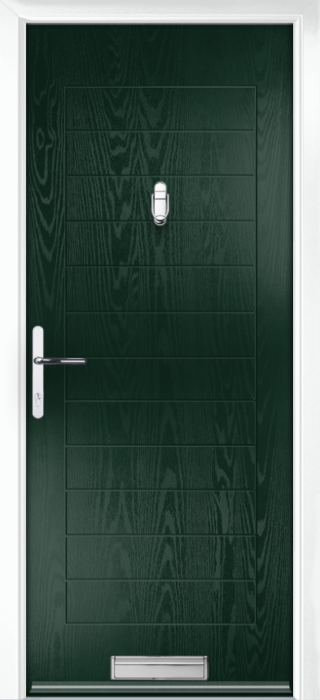 Composite Door - Talbot Solid - Classic Collection - Green
