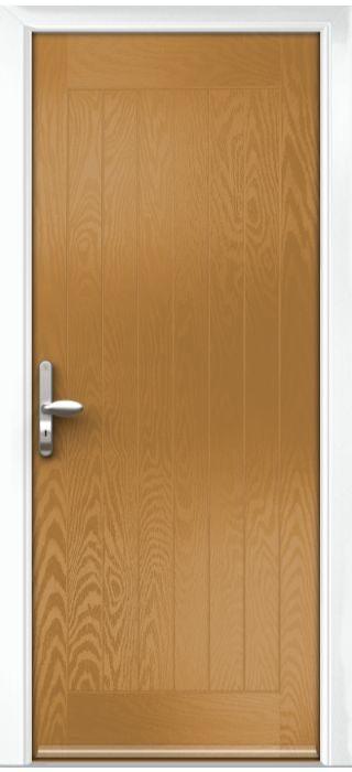Composite Door - Aspen - Rural Collection - Irish Oak