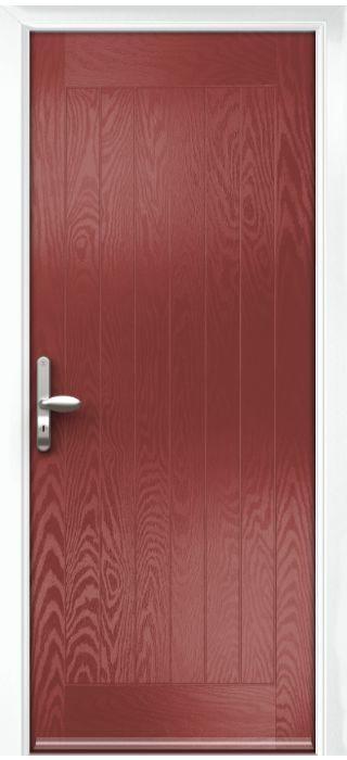 Composite Door - Aspen - Rural Collection - Marsala