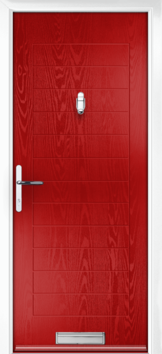 Composite Door - Talbot Solid - Classic Collection - Red