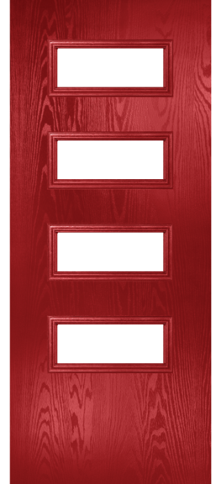 Composite Door - Volta - Classic Collection - Red