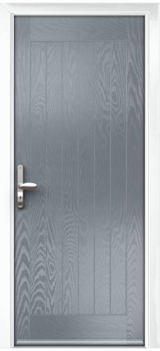 Composite Door - Aspen - Rural Collection - Shadow Grey
