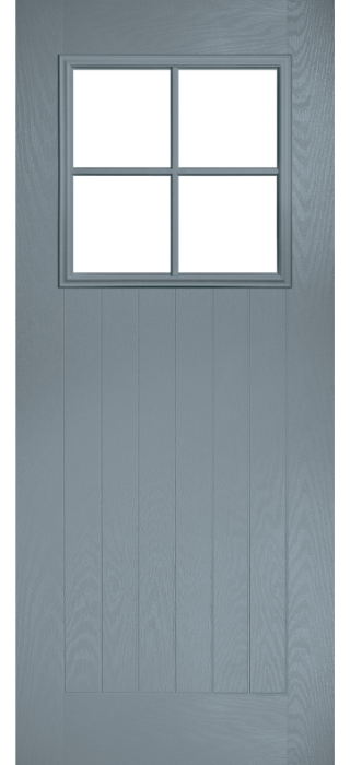 Composite Door - Birch - Rural Collection - Shadow Grey