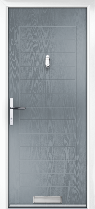 Composite Door - Talbot Solid - Classic Collection - Shadow Grey