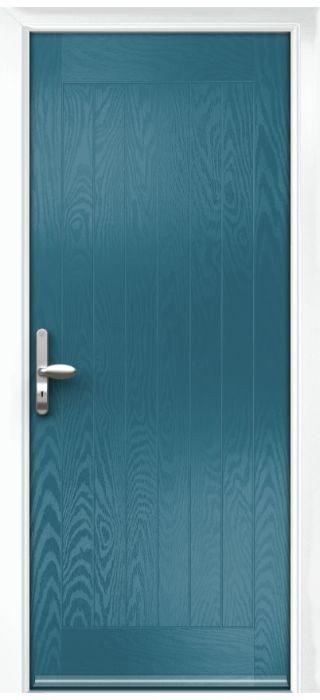 Composite Door - Aspen - Rural Collection - Victory Blue